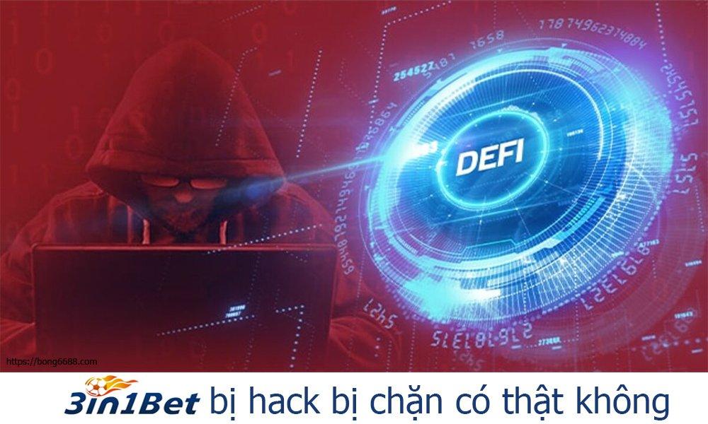 3IN1BET bị hack bị chặn có thật không