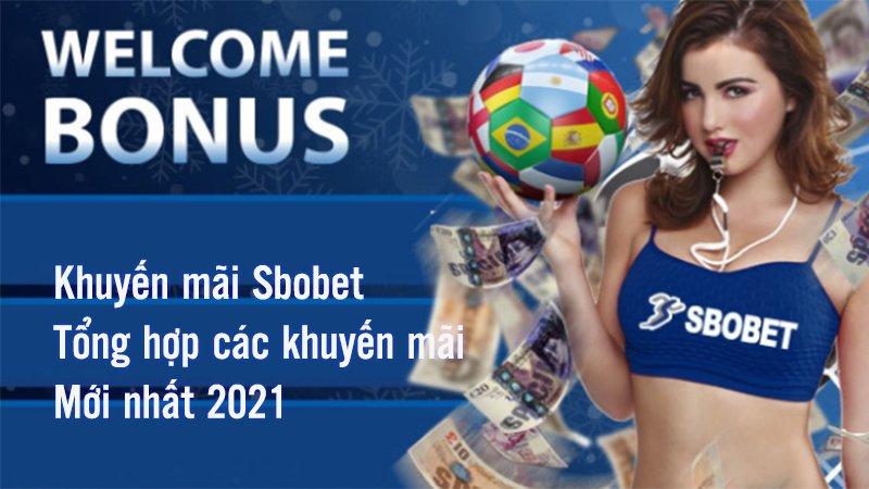 Khuyến mãi Sbobet 100% cho thành viên mới