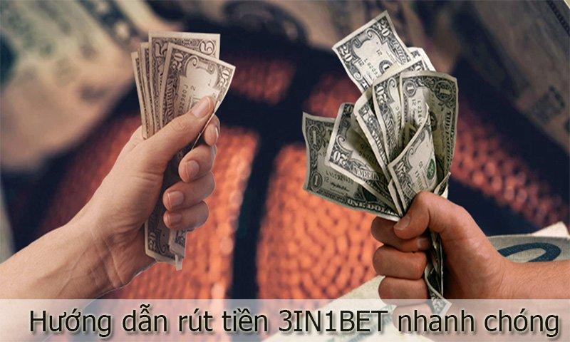 Cách rút tiền 3IN1BET đơn giản