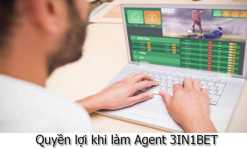 Quyền lợi khi làm Agent 3IN1BET